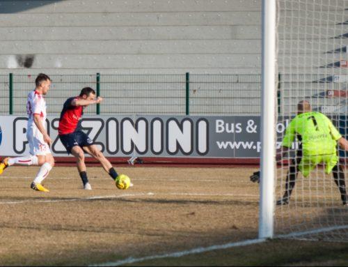 Oggi alle 14,30 Gubbio-Sudtirol. I rossoblù Marchi e Plescia sfidano la migliore difesa del campionato