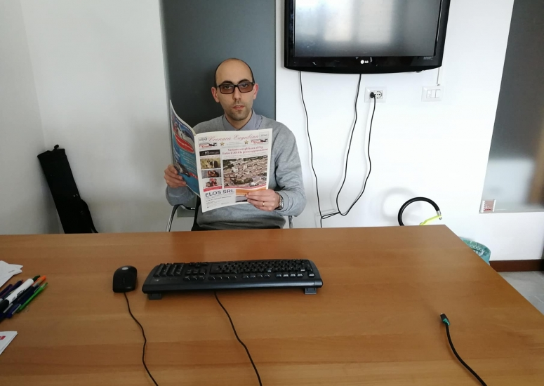 """Daniele Cavaleiro è il primo giornalista iscritto all'Ordine grazie alla collaborazione con Cronaca Eugubina. """"Ampi margini di miglioramento"""""""
