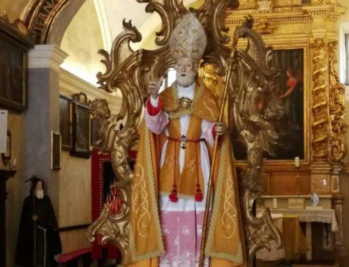 A Pisa intitolata una via a Sant'Ubaldo. Saluti da parte del Presidente Ubaldo Minelli e del Vescovo Luciano