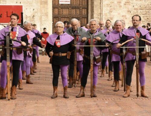 Gubbio: il 14 agosto il Palio della Balestra. La prima grande manifestazione del folklore italiano a tornare