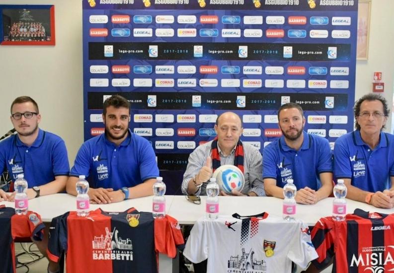 """E' iniziata al """"Barbetti"""" la nuova stagione sportiva dei rossoblù. Il Presidente Notari: """"Spero in un anno pieno di soddisfazioni"""""""