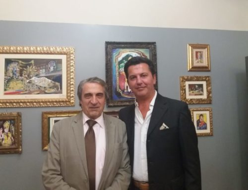 """Inaugurata a Gubbio la mostra """"Dipinti"""" di Roberto Ferranti. """"La mia prima personale dopo 30 anni"""""""