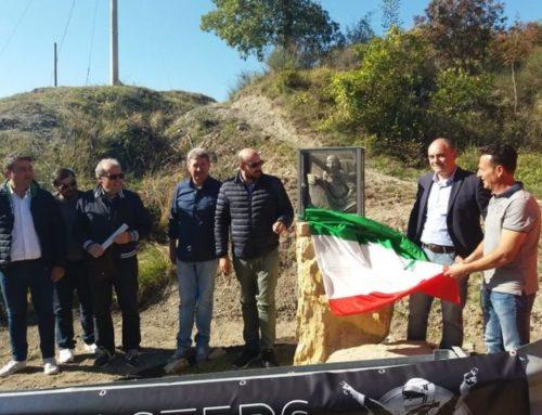 Inaugurato al valico di Madonna della Cima il cippo dedicato dal CECA a Luigi Fagioli