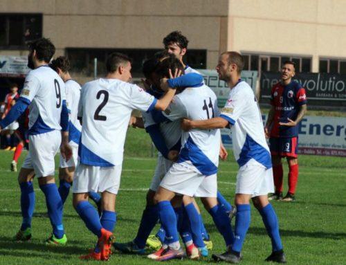 """Branca-Mugnano 2-1. Gol partita di Bellucci e Gaggiotti. Sugli spalti del """"Santa Barbara"""" Fabrizio Ravanelli"""