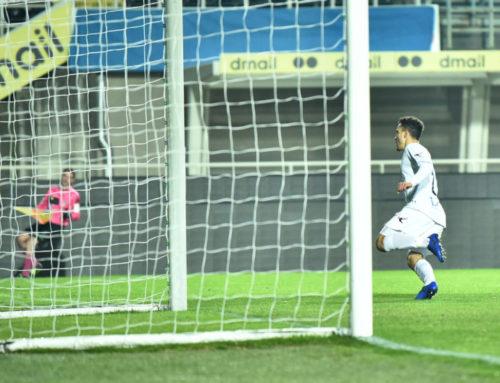 Albinoleffe-Gubbio 1-2. Terza vittoria consecutiva dei rossoblù. Decisive le reti di De Silvestro e Chinellato
