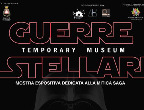 """A Gubbio dal 9 marzo la mostra espositiva """"Guerre Stellari Temporary Museum"""" al Centro Servizi Santo Spirito"""