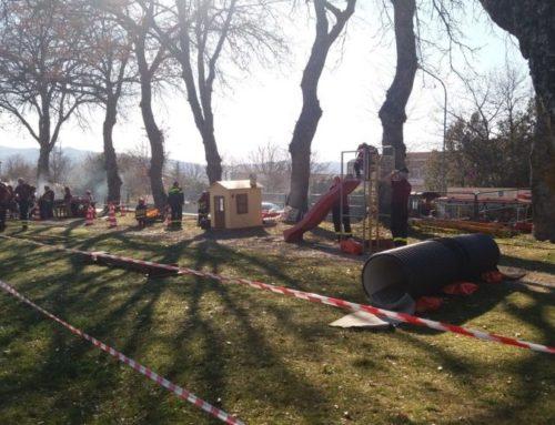 Ventomania 2019. L'Associazione Nazionale Vigili del Fuoco al Parco del Teatro Romano con Pompieropoli