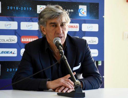 """Gubbio-Renate 0-0. Galderisi: """"Non è il risultato che speravamo e volevamo, serve più qualità"""""""