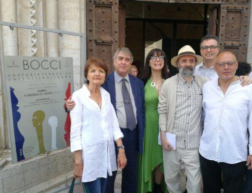 Prorogata fino al 25 agosto la mostra di arte dedicata a Nello Bocci. Già oltre 4.500 le presenze