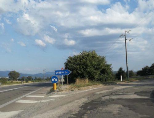 Sorpasso vietato sulla SS 219 a Gubbio est. Automobilista fermato e multato dai Carabinieri
