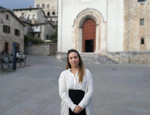 Martina Carletti, un'eugubina candidata alla Presidenza della Regione Umbria. L'intervista e il programma