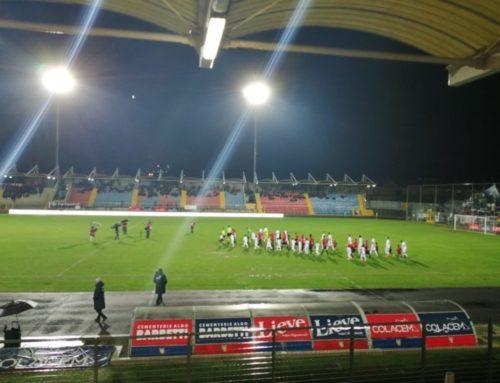 Gubbio-Cesena 0-2. Decisivi i gol di Butic e Russini, espulsi Cesaretti e Malaccari. Domenica trasferta a Ravenna