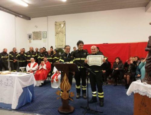 Vigili del Fuoco di Gubbio. L'1 febbraio 2020 al Capo Distaccamento Lupatelli succederà Sbianchi
