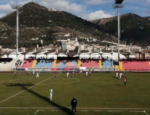 Gubbio-Reggio Audace 0-0. Buon pareggio rossoblù contro una delle migliori squadre del campionato