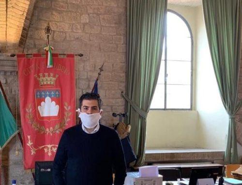 """Valerio Piergentili impegnato al Centro Operativo Comunale. """"Grande solidarietà da parte degli eugubini"""""""