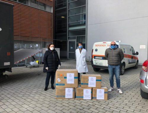L'A.E.L.C. dona dispositivi di protezione individuale all'Ospedale comprensoriale di Gubbio e Gualdo Tadino