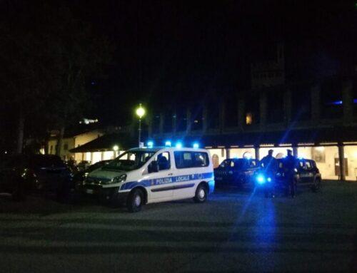 Sabato sera a Gubbio i controlli preventivi delle Forze dell'Ordine. Impegnate 3 pattuglie e 6 agenti