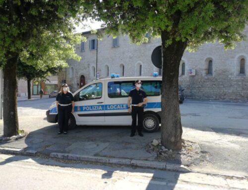 A Gubbio controlli di prevenzione della Polizia Locale. Impegnate 4 pattuglie e 10 agenti