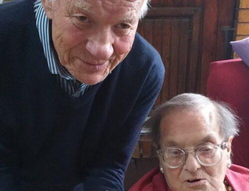 Nozze di Diamante a Gubbio. Evelina e Anselmo Laurini hanno festeggiato 60 anni di matrimonio