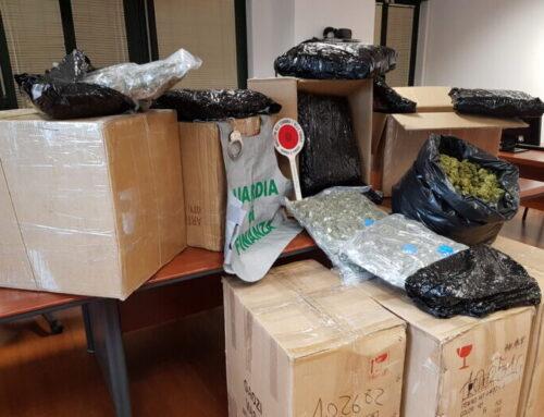 Gdf Perugia: operazione China Express. Sequestrati più di venti pacchi contenenti marijuana