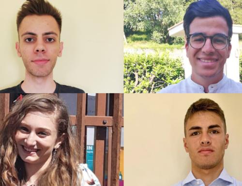 """Maturità 2020. Alessio, Pietro, Alessia e Filippo Maria sono i ragazzi 100 e lode al """"Cassata Gattapone"""""""