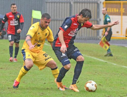 """Serie C: al """"Barbetti"""" Gubbio-Modena 0-2. Sotto la pioggia decidono i gol di Spagnoli e Scappini"""