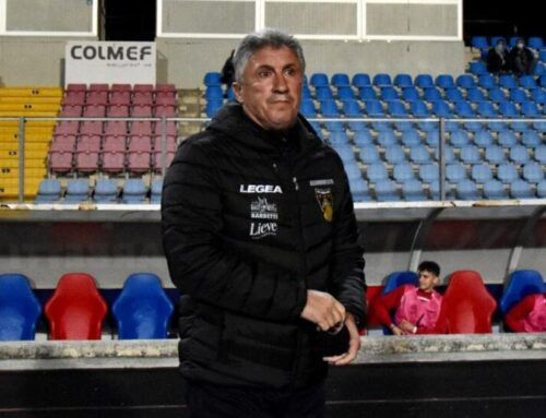 """Gubbio-Carrarese 4-0. Mister Torrente: """"Siamo stati concreti e bravi a soffrire. Complimenti ai ragazzi"""""""