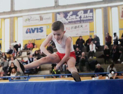 Il giovane talento della ginnastica artistica Michele Ceccarini è 2° ai Campionati Nazionali a Milano