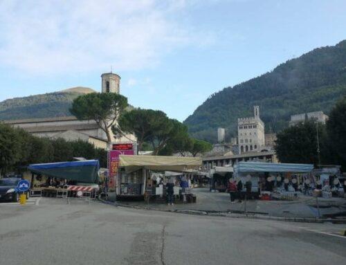 Mercato di Gubbio: 40 sanzioni totali della Polizia Locale agli ambulanti per il non corretto uso della mascherina