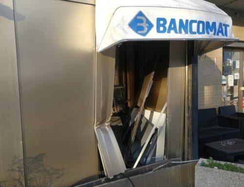 Nella notte tentato furto al Bancomat di Branca. I malviventi non sarebbero riusciti a prelevare denaro