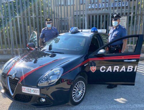 Carabinieri: segnalato al Prefetto un 30enne perugino trovato in possesso di 1,7 gr. di hashish a Branca