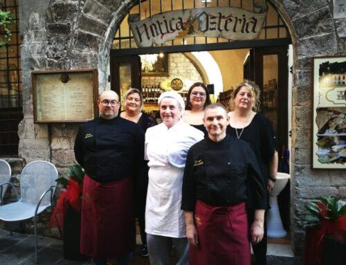 """Inaugurata a Gubbio """"Antica Osteria"""". Vini e piatti della tradizione raccontano la vita di una """"grande Famiglia"""""""