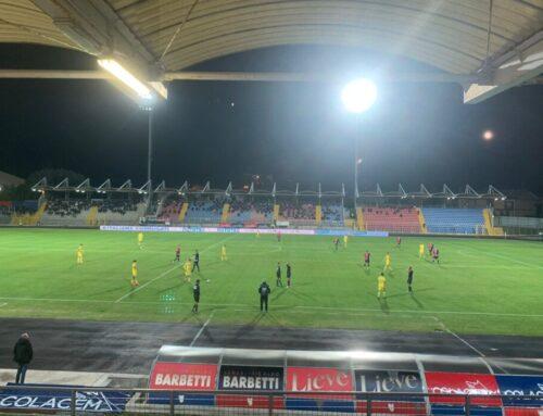 Gubbio-Carrarese 4-0. Rossoblu di Torrente al 4° posto grazie ai gol di Bulevardi Aurelio Oukhadda e Spalluto